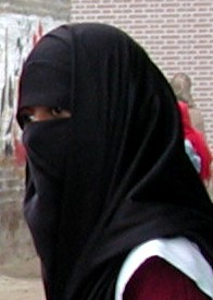 Niqab pa catwalken i kopenhamn