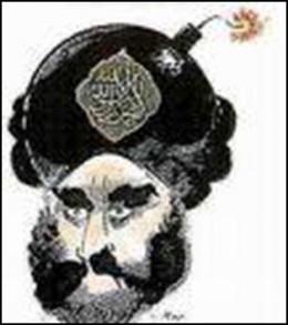 Muhammed med bombe i turbanen