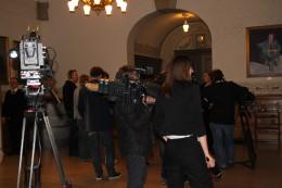 Pressen venter i spenning på at Hedegaard skal vise seg for første gang etter attentatet