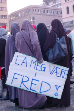 Hilde_8. mars i Oslo