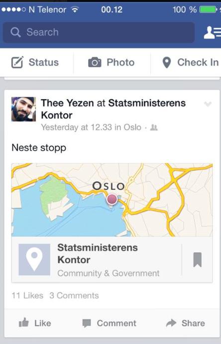Thee.Statsministerens kontor