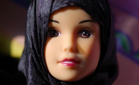 hijab-dukke