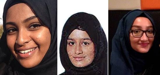 Alle London-jentene i Jihad for Den islamske staten.