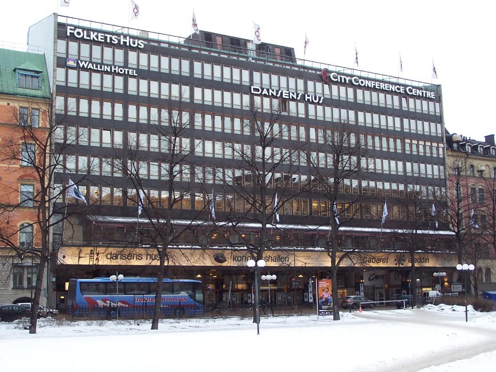 Folkets Hus i Stockholm går mot nye tider, kan man si.