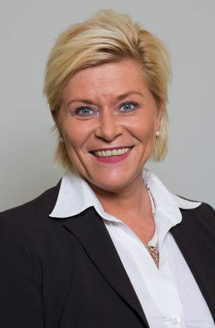 """Finansminister Siv Jensen (FrP) snakker om """"bredt forlik"""""""