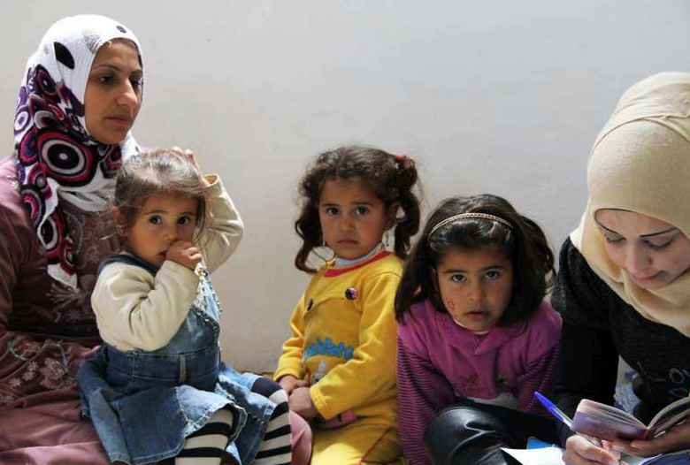 Syriske flyktninger utløser flere familiegjenforeninger enn mange andre flyktninggrupper. (Ilustrasjonsfoto fra un.org)
