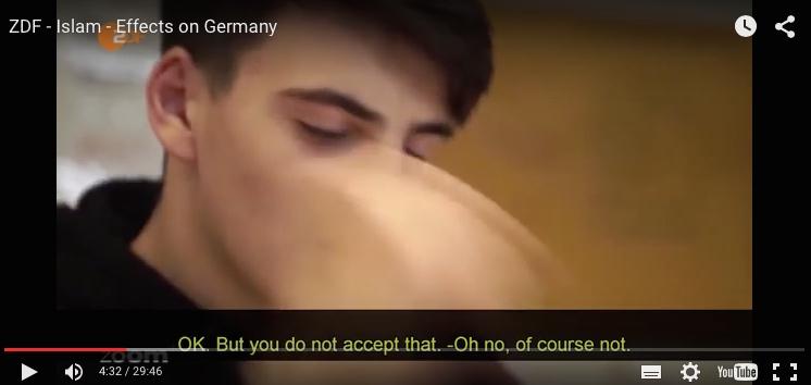 Skjermbilde fra dokumentaren.