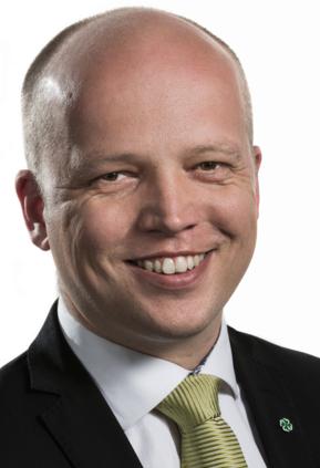 """Sp-leder Trygve Slagsvold Vedum lanserer """"bredt forlik"""""""