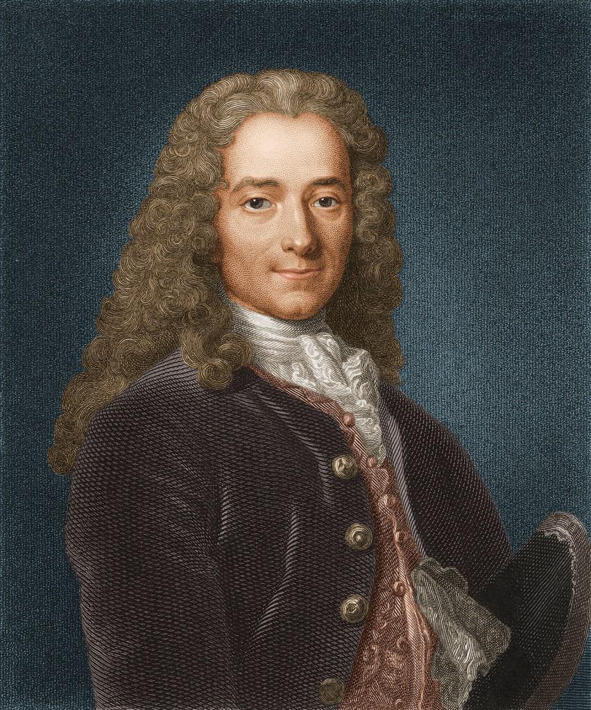Opplysningens far, Voltaire.