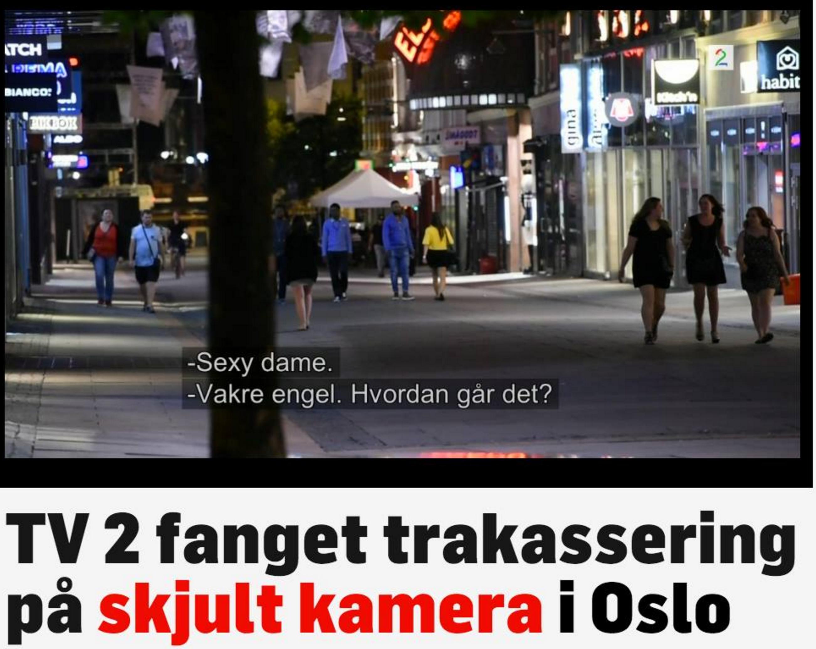 Faksimile fra TV2