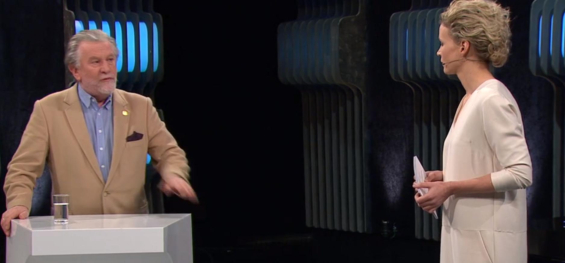 Faksimile fra Debatten NRK