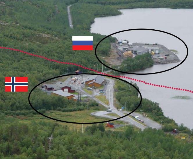 Storskog grenseovergangssted (faksimile fra utredning fra Statsbygg nr. 11733)