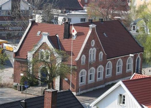 Røde Kors-huset i Sandefjord blir moské.