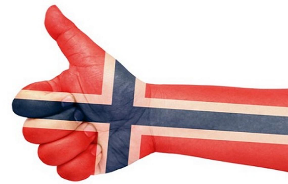 Tommelen opp for Norge!