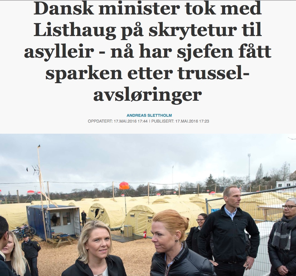Faksimile: Aftenposten.