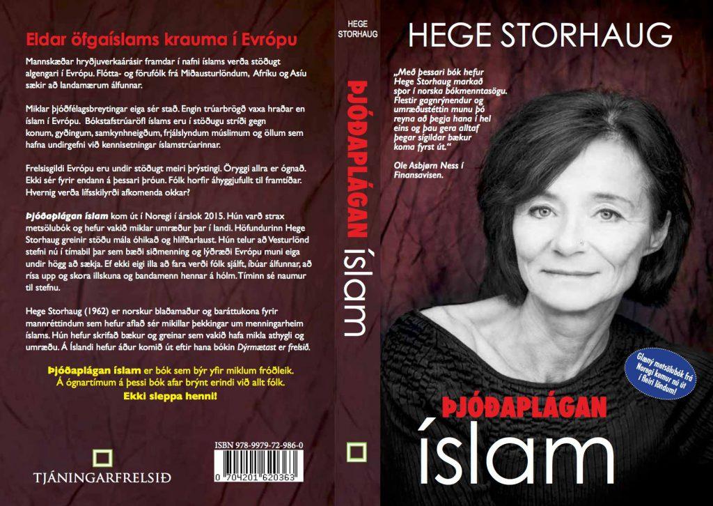 Omslaget på islandsk versjon.