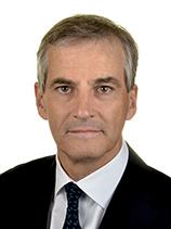 STØRE Jonas Gahr. A, Os. 2009-2013. STOR utgave. Statsråd.