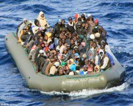Afrikanere vil til Europa eller USA