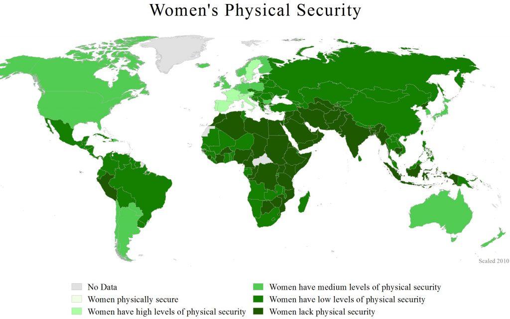 Verdens verste land for kvinner.