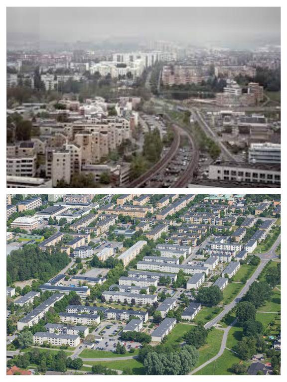 Husby og Rinkeby.