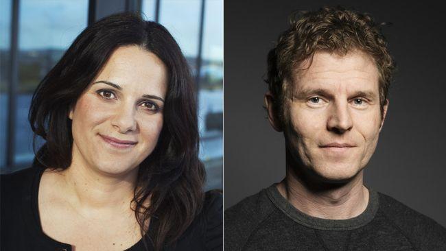 Lina Makboul og Henrik Bergsten.