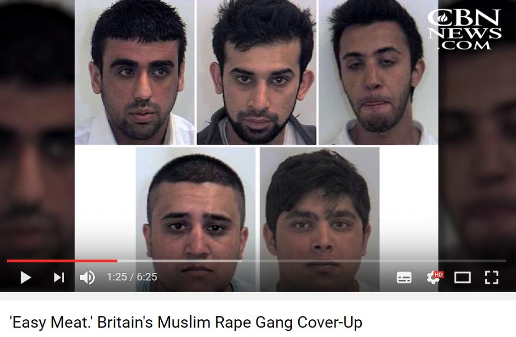 I ett område estimeres dte av seks av syv muslimske menn enten visste om overgrepene eller selv deltok i dem.