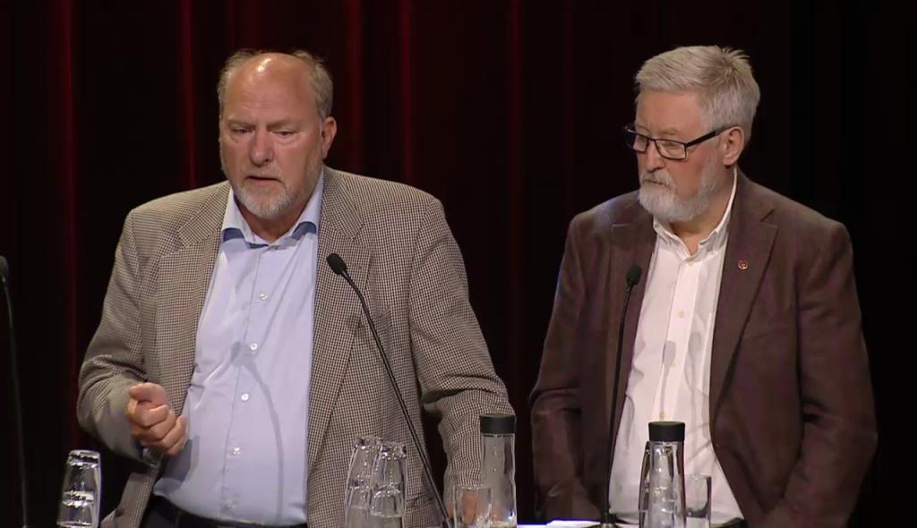 Svein Oppegaard og Tor-Arne Solbakken.