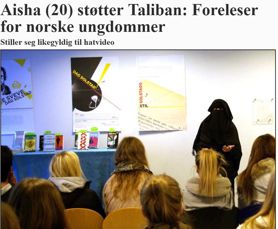 Niqab: Respektløst og ekshibisjonistisk