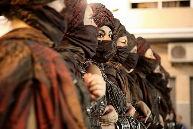Spanske kvinner som ikke klarte å betale særskatt, jizya, ble satt i harem som sexslaver.