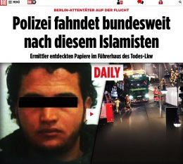 Terrorangrepet i Berlin: Politiet etterlyser kjent islamist