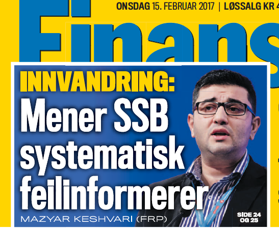 En modig politiker langer ut mot SSB