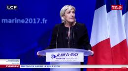 Le Pen: Spørsmålet er enkelt, og grusomt