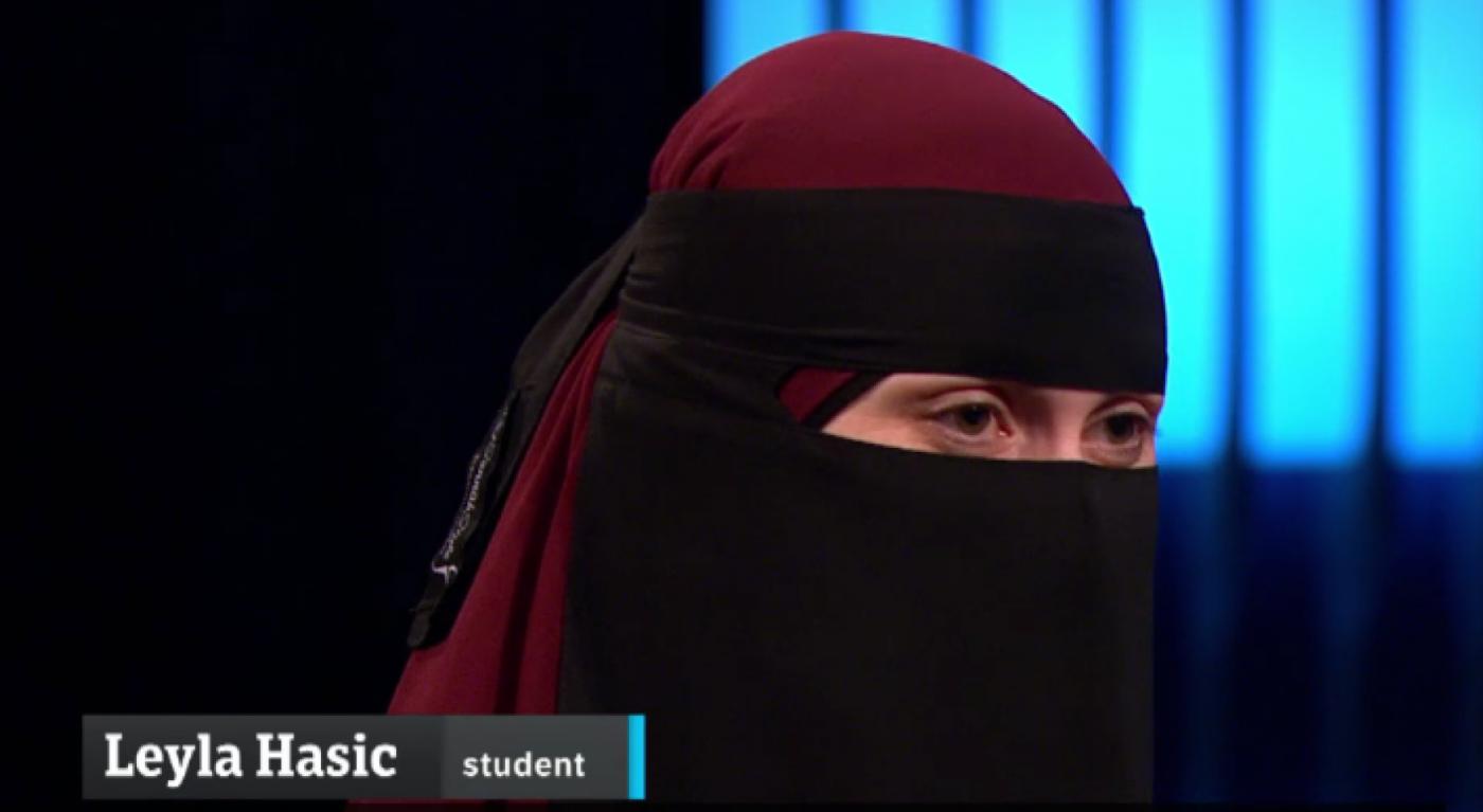 -Av med burka og nikab hvis dere vil ha trygd