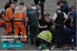 London-terroristen: -En vennlig mann med et ondt blikk