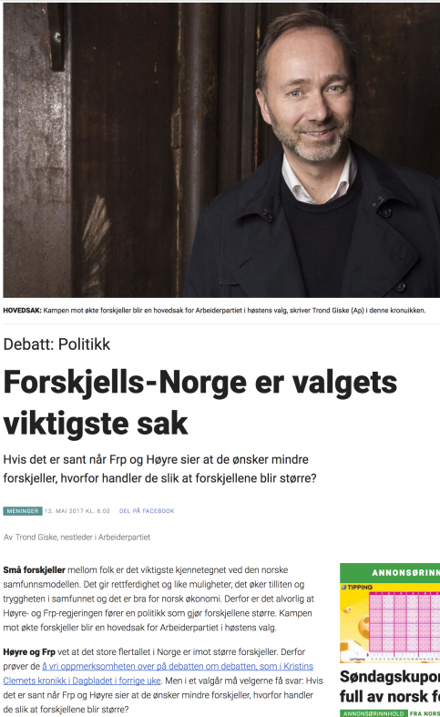 Kamp mot forskjells-Norge