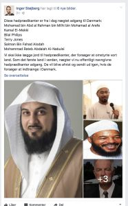 Danmark med innreiseforbud for hatpredikanter