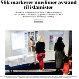 Debatt i NRK i dag: Frihet mot islamsk fundamentalisme