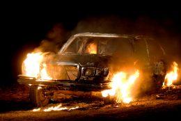 Nye bilbranner i Sverige
