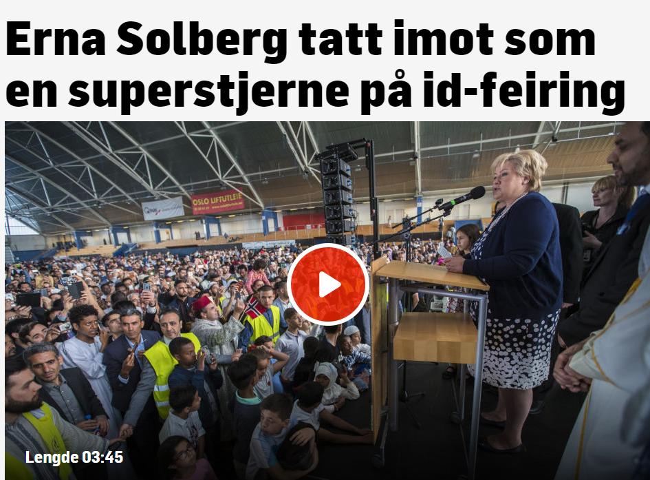 Solberg fortsetter flørten med totalitære krefter