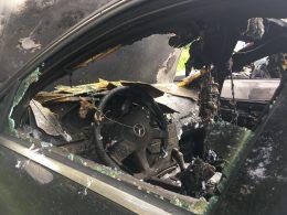 Nå brenner også biler i Trondheim