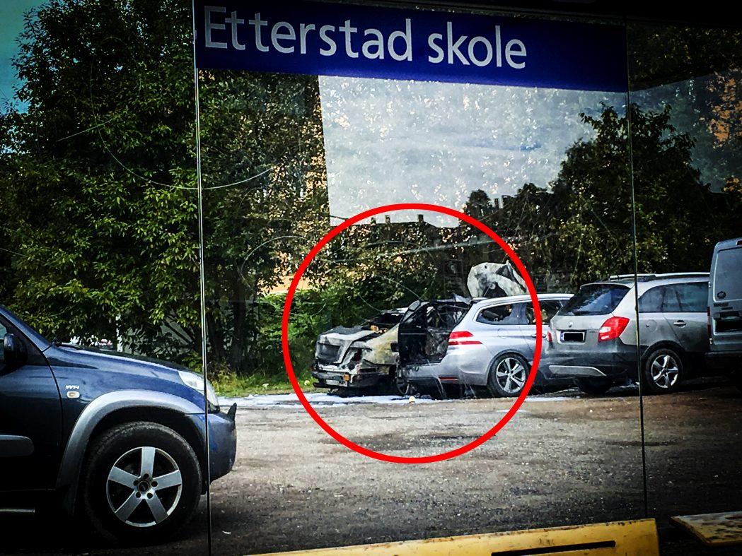 Bilbrannene fortsetter – to nye i Oslo