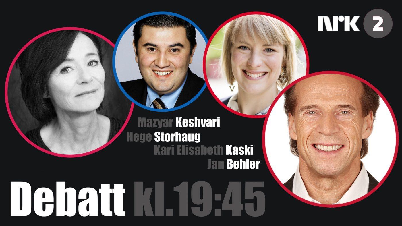 Valgdebatt om innvandringen på NRK i kveld