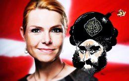 Iran straffer Danmark for Muhammed-tegning på Støjbergs iPad