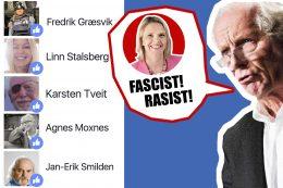 Journalisters åpne avsky for Sylvi Listhaug