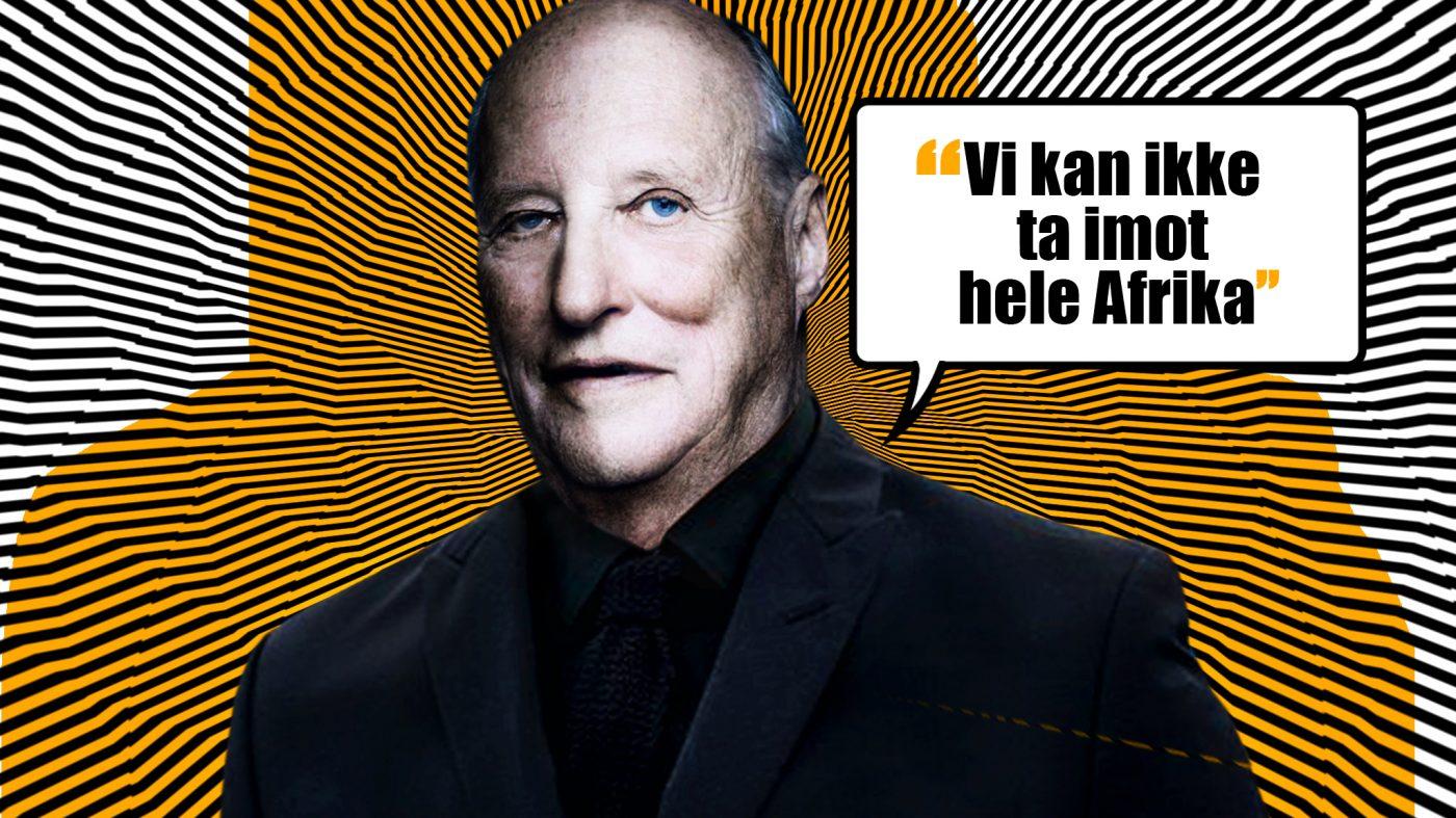 Spiller også Kong Harald på frykt og fordommer?