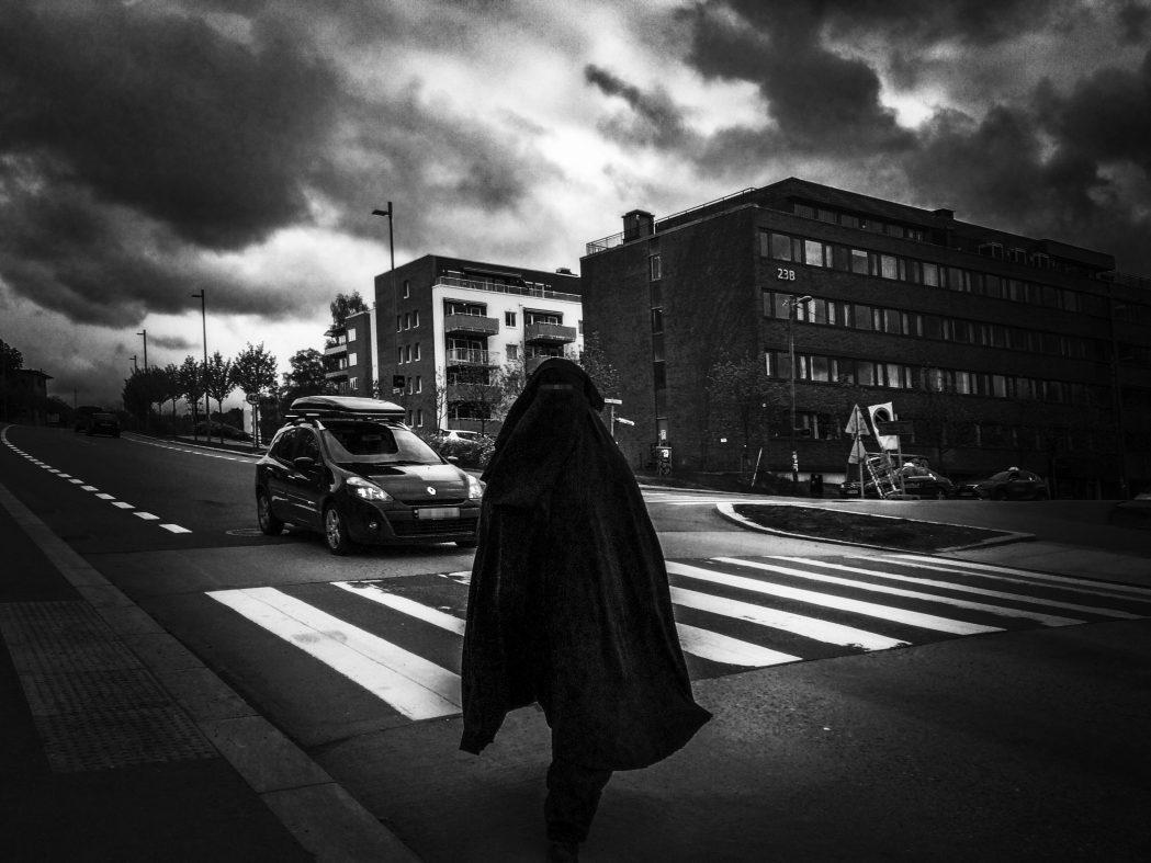 Demonstrasjon mot burkaforbud