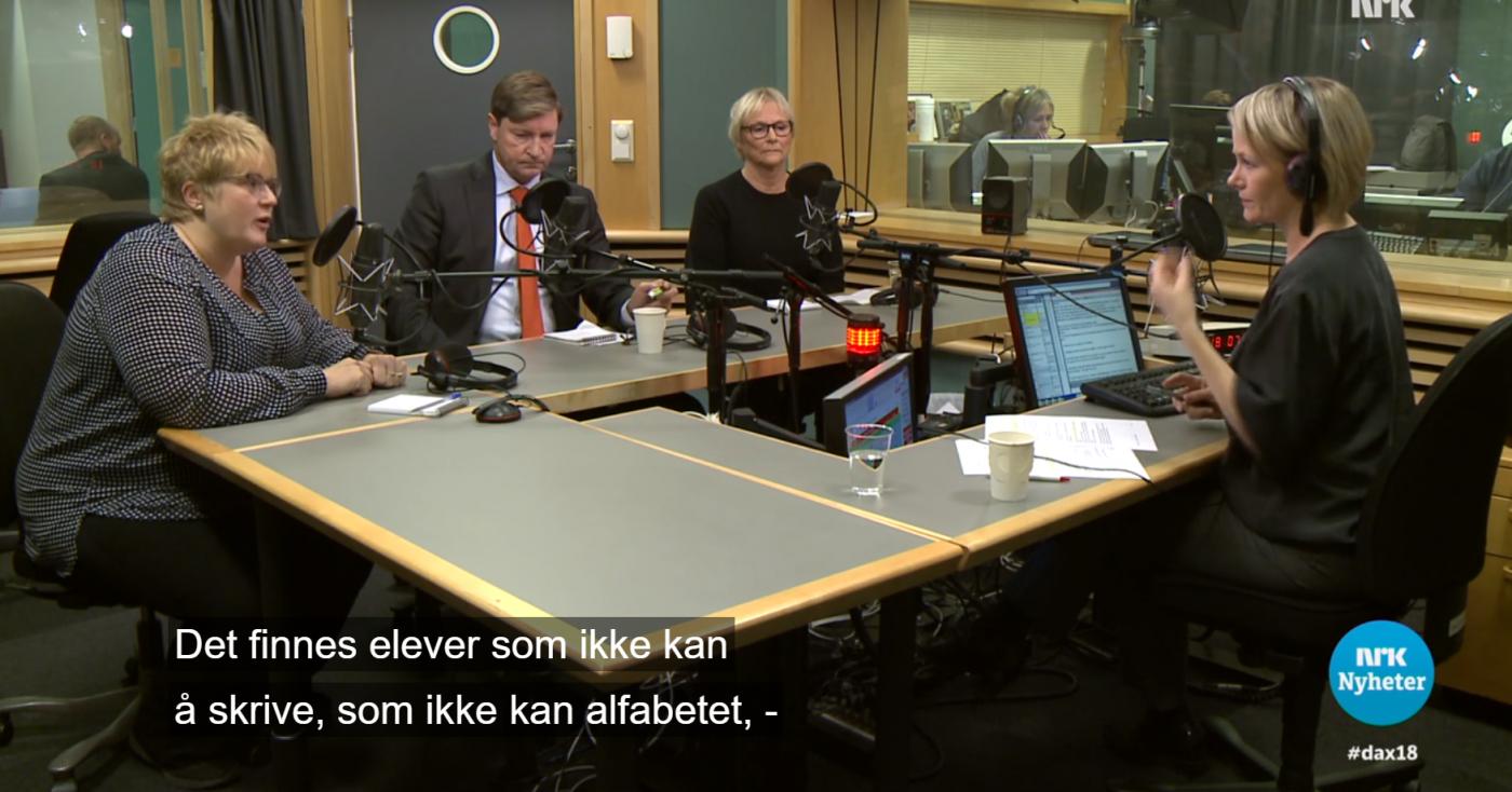 Skandale-Trine: Vi har analfabeter i norsk skole