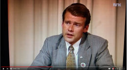 Carl I Hagen advarte mot svenske tilstander i 1977. Se video