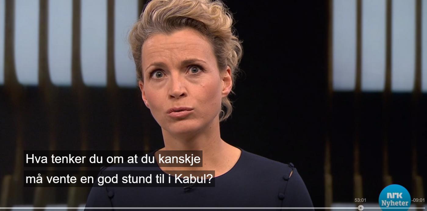 NRK misbruker barn i asylpropaganda
