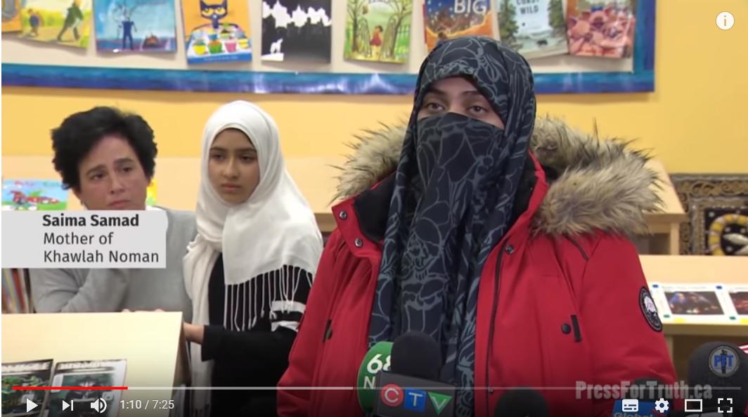 Jente (11) fikk hijaben revet av. Så viste det seg at alt var løgn